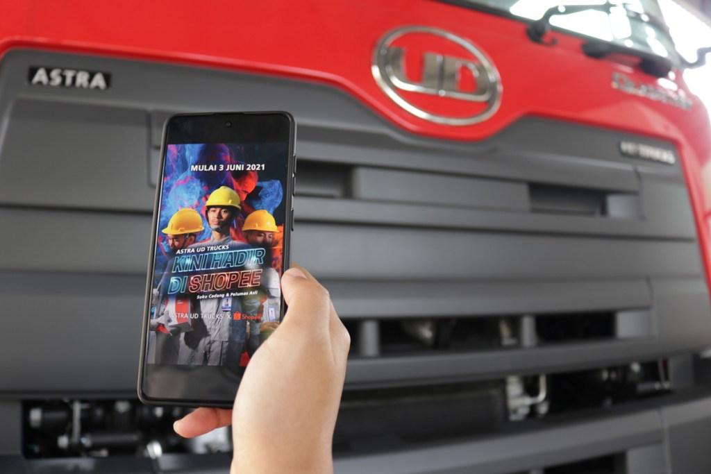 Mudahkan Pelanggan, Astra UD Trucks Kini Hadir di Shopee