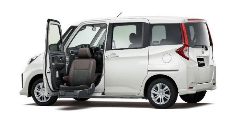 Daihatsu Thor Edisi Seat Lift, Minivan Kompak Untuk Penyandang Disabilitas Dan Lansia