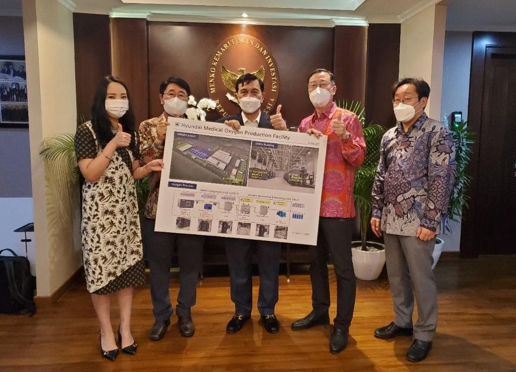 Bersama Pemerintah, Hyundai Motor Produksi Pasokan Oksigen Untuk Pasien Covid-19