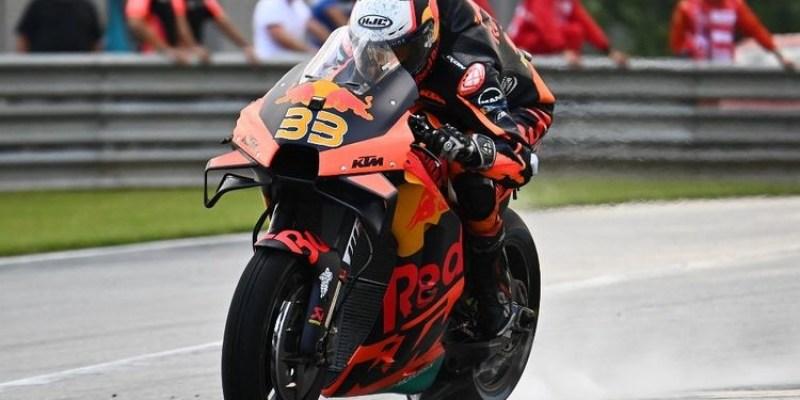 MotoGP Austria, Brad Binder Podium Pertama
