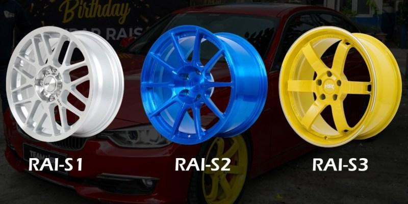 HSR Wheel Luncurkan RAI-S3, Velg Edisi Spesial Khusus Drifting