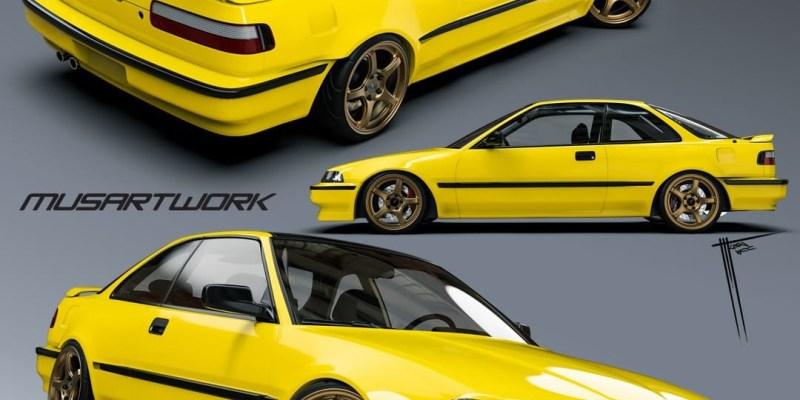 Honda Integra Garasi Drift Jadi Supergiveaway Terakhir Untuk IMX 2021 Limitless