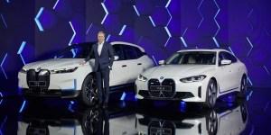 BMW Ungkap Selubung i4 dan iX Di Ajang IAA Mobility 2021