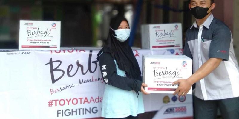 Auto2000 Donasi Sembako Untuk Masyarakat Terdampak Covid-19