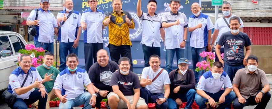 MTC INA Pekanbaru Chapter dan MBCP Gelar Vaksinasi Massal