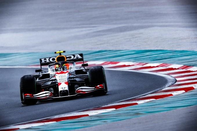 Podium Ganda Honda di F1 Grand Prix Turki