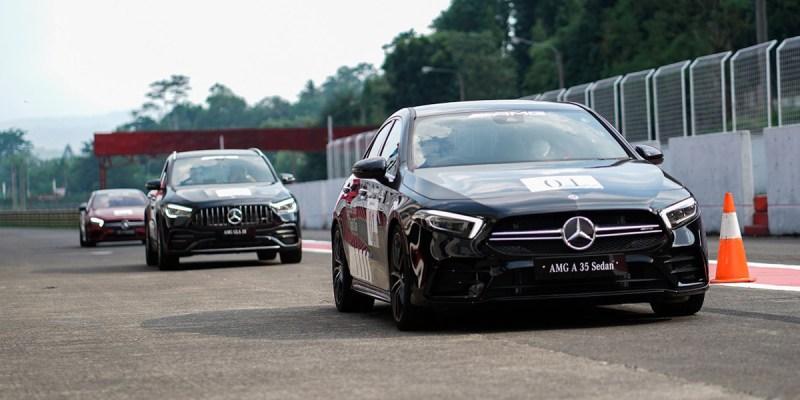 New Mercedes-AMG diperkenalkan di AMG Track Day 2021