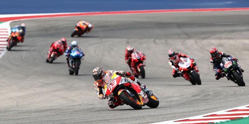 Kedigdayaan Marc Marquez di MotoGP Amerika