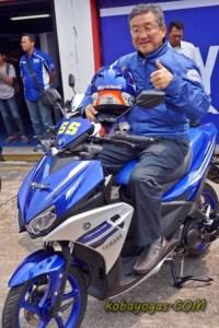 Yamaha Aerox 125LC Sentul Dyonisius Beti Otoborn 2016