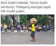 potret unik tragedi terorisme bom sarinah jakarta 05