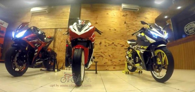 modifikasi all new cbr 150r facelift 2016 bms otoborn 03x