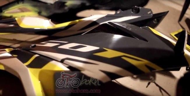modifikasi all new cbr 150r facelift 2016 bms otoborn x