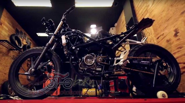 modifikasi cbr 150r facelift 2016 bms otoborn x