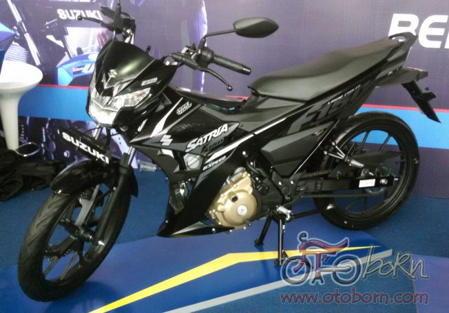 new satria f150-titan black solid black-otoborn.com