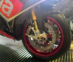 Aprilia RSV4RF braking front left