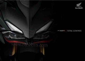 Depan teaser Honda All New CBR250RR