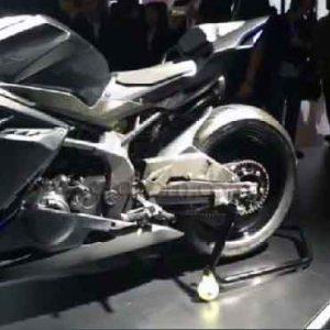 Honda CBR250RR Concept tengah Kiri