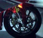 Honda CBR250RR Racing Red Upside-down