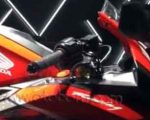 Honda CBR250RR Racing Red Yoke