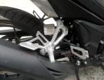 Honda New Supra GTR150 pillion step kanan