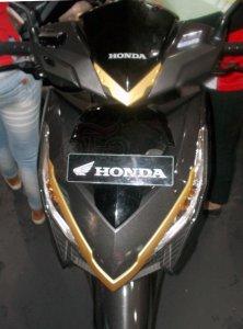Honda New Vario Aksesoris Terpasang Depan