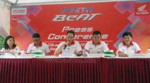 Jajaran BOD DAM Press Conference Honda All New BeAT eSP 2016