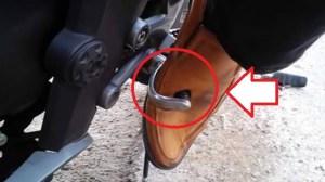kaki-tertusuk-gearshift-motor