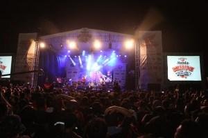 Hiburan dari band Nidji di HBD2016 ahm_4