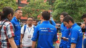 ngobrol santai bareng Nmekawa san dan tim Suzuki jepang