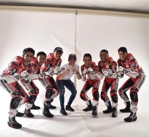 Pebalap Indonesia Musim 2018 Dapat Support Marc Marquez dan Dani Pedrosa