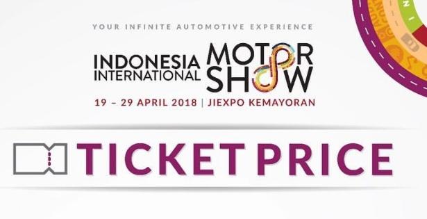 Harga Tiket Masuk Indonesia International Motor Show IIMS 2018