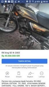 Tips Bikin Performa Yamaha RX King Tetap Bengis Di Tangan Awam