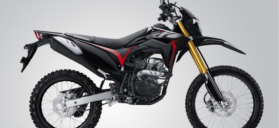 Wihh CRF150L Extreme Black Pilihan Warna Baru Yang Macho Abis