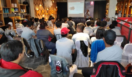 PDKT Ke Anak Kampus Honda Gelar Vario Goes To Campus