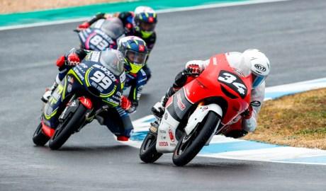 Pebalap 15 Tahun Mario Aji Hampir Podium Moto3