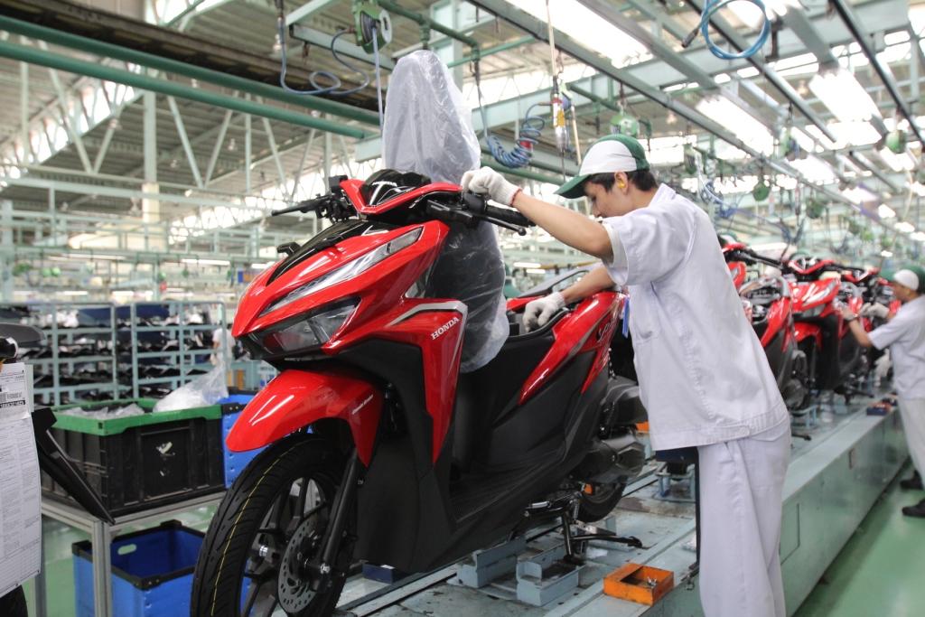 Ekspor Motor Honda Tumbuh 83% Kuartal Pertama 2019