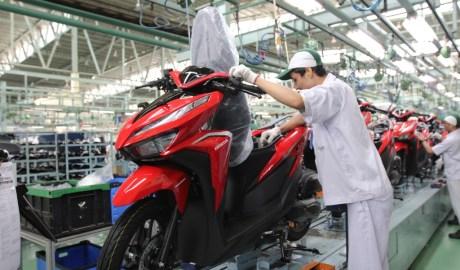 Ekspor Motor Honda Tumbuh 83%