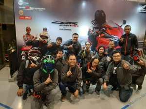Keseruan Bukber Nobar MotoGP DGujubar Bareng 100 Bikers Komunitas Honda di Bandung