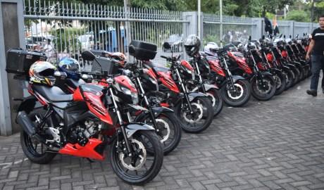 Suzuki Saturday Night Ridedi Kota Pahlawan Surabaya