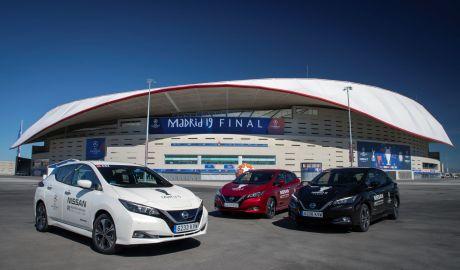 Mobil Diesel dan Bensin Dilarang Nissan Leaf dan Van E-NV200 Mengaspal di Madrid