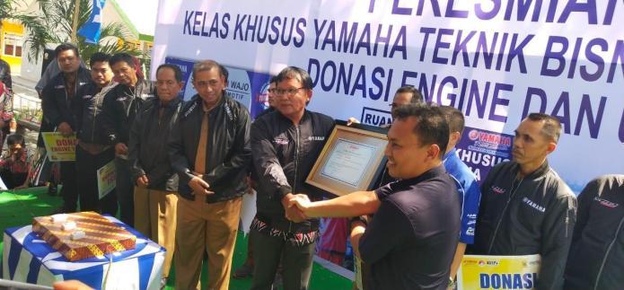 Yamaha Resmikan Kelas Khusus di Sulawesi Selatan