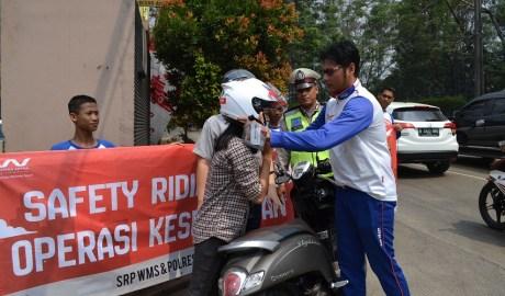 Safety Riding Promotion Wahana Langsung Turun Kejalan Ajak Selamat