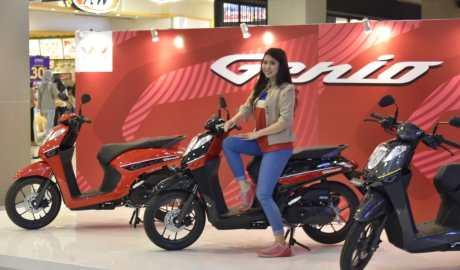 Honda Genio Terjual 50 Unit Dalam 3 Hari Launching di Tangerang