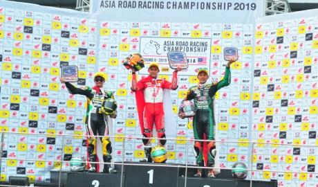 Indonesia Juara AP250 Sepang