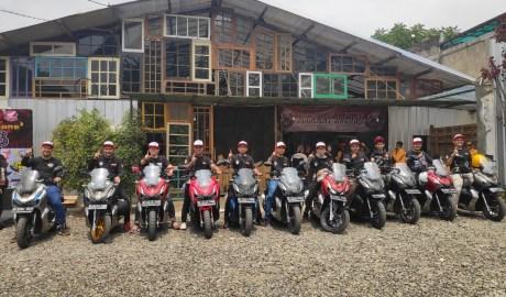 Bandung Owners ADV Komunitas Baru Penunggang Skutik Honda ADV150