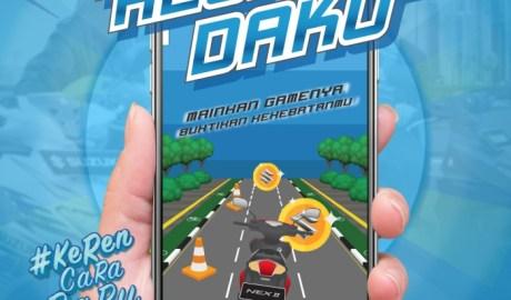 Hadirkan Augmented Reality Kejar Daku Suzuki Ajak Pengguna Medsos Fun Bareng