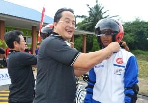 Resmi! Safety Riding Lab Berdiri di Kota Binjai Sumatera Utara