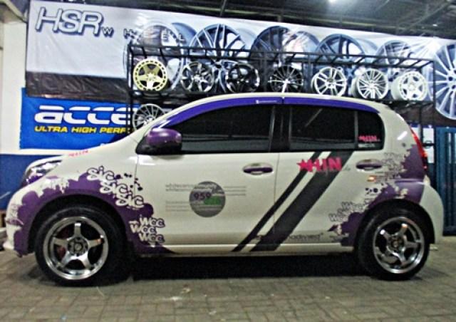 20 Konsep Modifikasi Daihatsu Sirion Terbaru