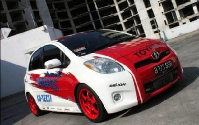 20 Konsep Modifikasi Toyota Yaris Gen 1 Terbaru