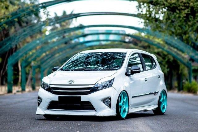 30 Modifikasi Toyota Agya Tipe TRD S G E Terbaru